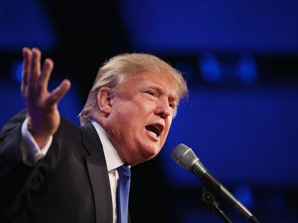 Trump Retweets Gif Of Him Hitting Clinton With Golf Ball