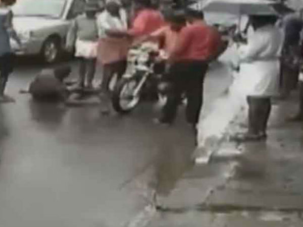 Criminal Attack Against Youth Trivandrum