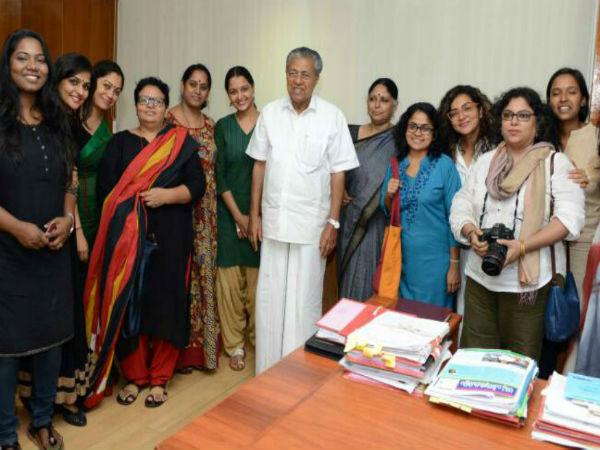 Women Collective Protest Near State Film Award Venue