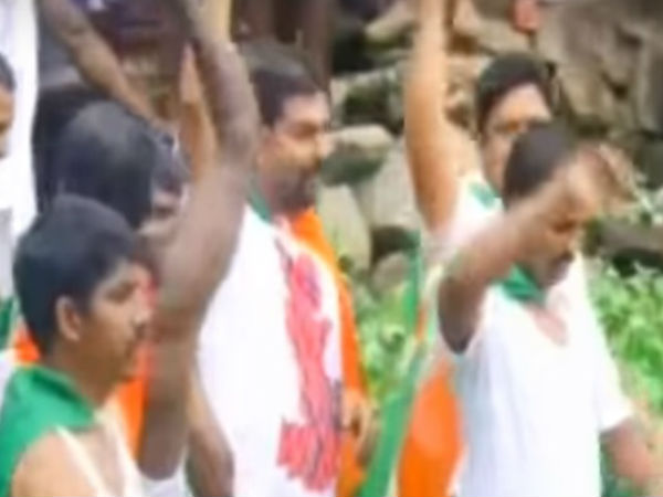 Drowning Youth Congress Protesters Rescued By Fishermen