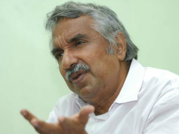 Oommen Chandy Against Kerala Government