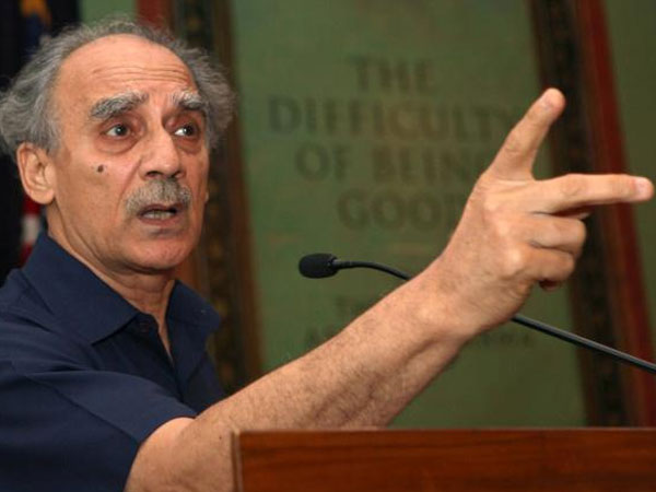 Supporting Narendra Modi Was A Mistake Arun Shourie Hits Out At Pm At Kasauli