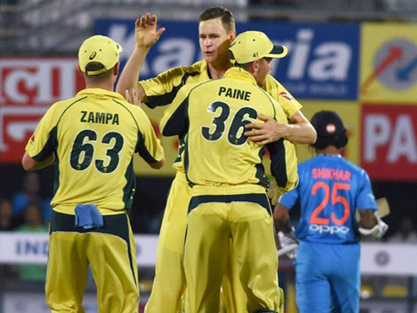 Australia Beat India 2nd T 20 Guwahati