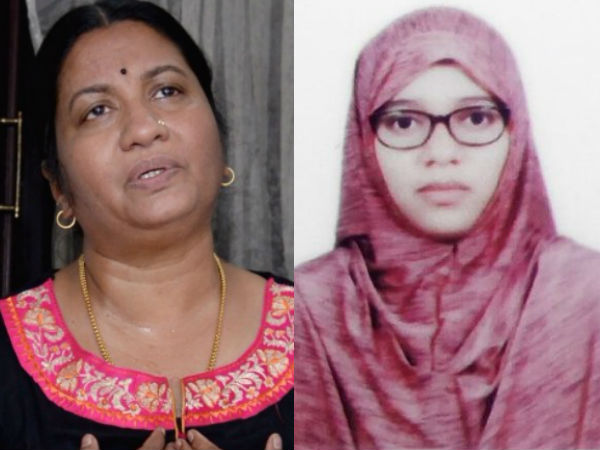 Nimisha Fathima S Mother Bindu Raises Serious Allegartions On Her Daughter S Conversion