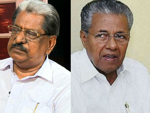 A A Azees Against Pinarayi Vijayan