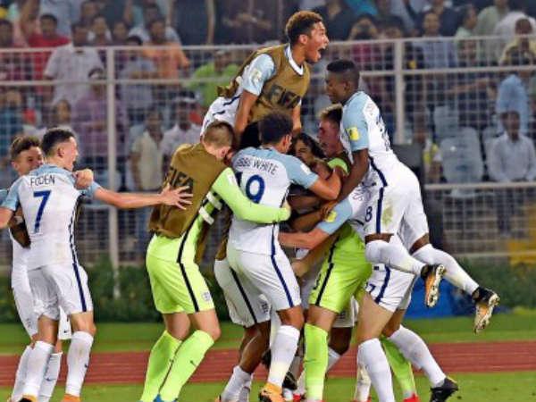 Fifau17wc Brazil V S England Semi Final At Kolkata