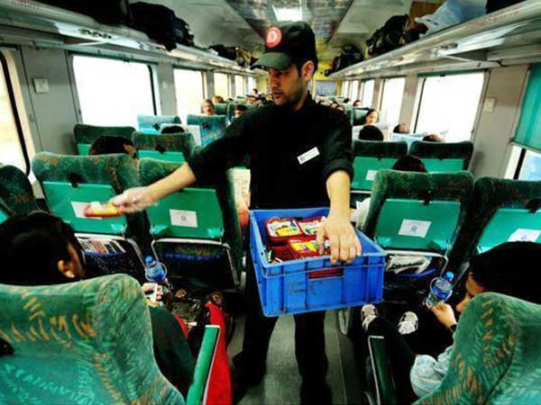 Indian Railways Introduce Airline Like Food Passengers May