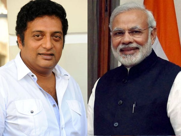 Modi Bigger Actor Than Me Says Actor Prakash Raj