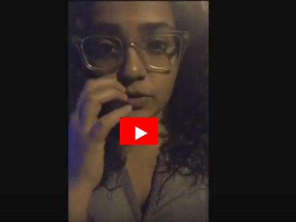 Actress Parvathi At Instagram Live In Kochi