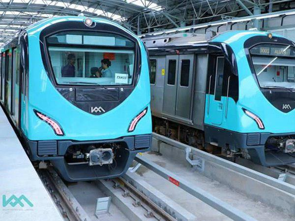 Kochi Metro Extended Upt Maharajas