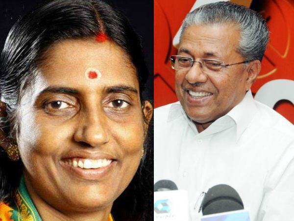 Media Report Kp Sasikala Appreciates Pinarayi Government