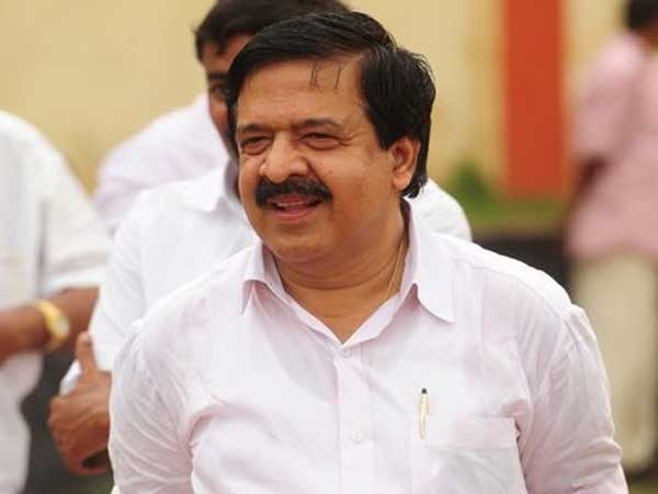 Ramesh Chennithala Facebookpost About Road