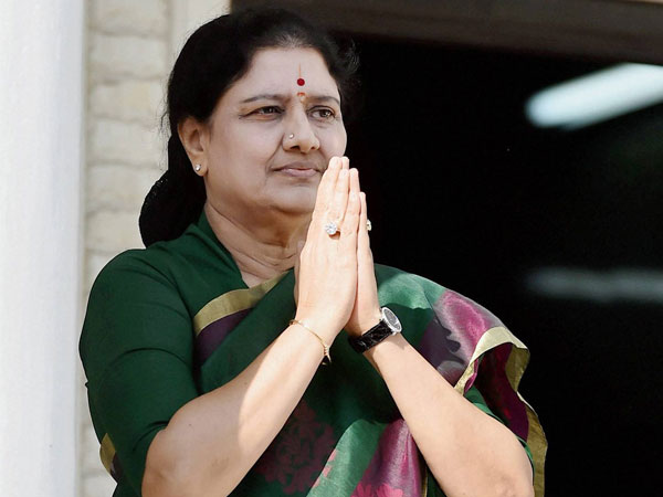Vk Sasikala Gets Parole Visit Unwell Husband Dhinakaran Co At Jail