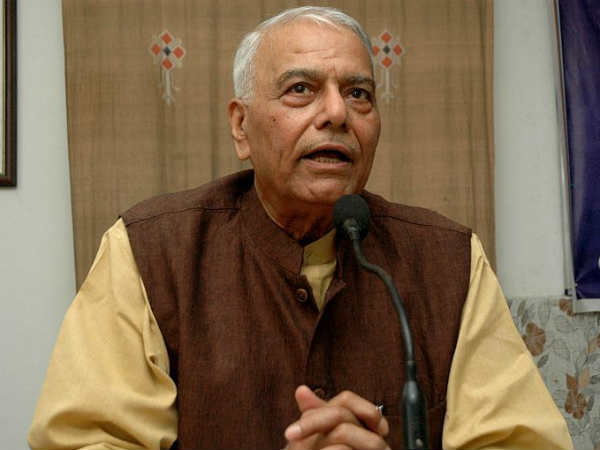 Ashwant Sinha Calls For Lokshakti To Check Rajshakti