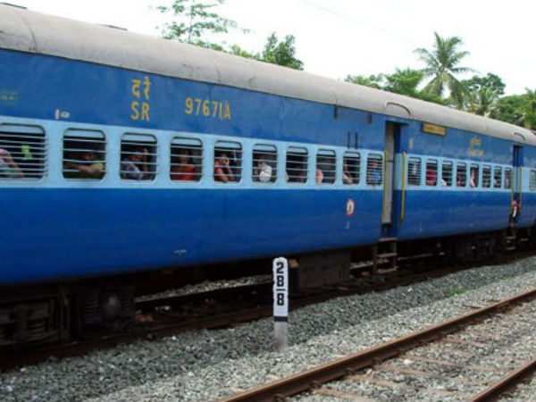 Railway Track Break In Thrikkarippur