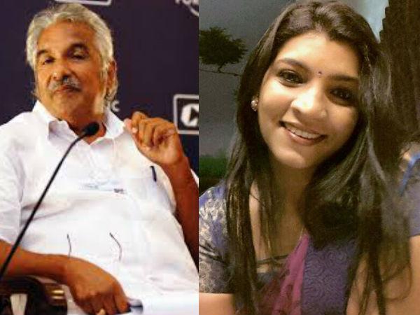 Saritha Against Oommen Chandy Again