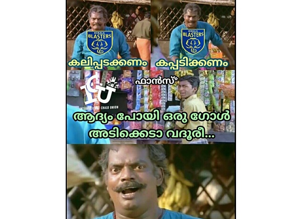 Social Media Mock Kerala Blasters For Their Second Goal Less Draw