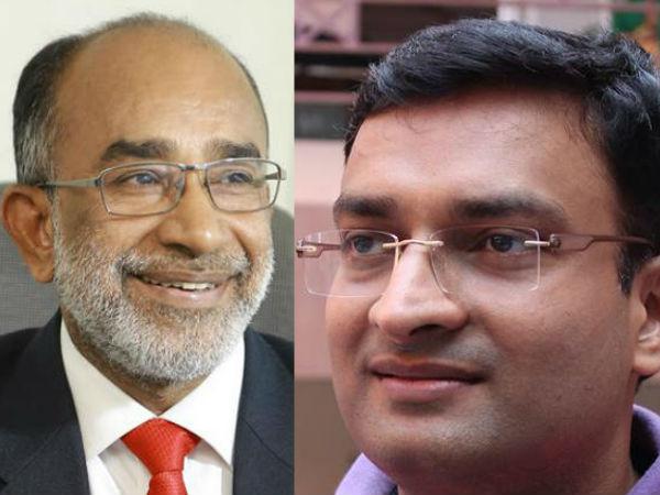 Prasanth Nair Ias Appointed As Private Secretary Alphons Kannanthanam