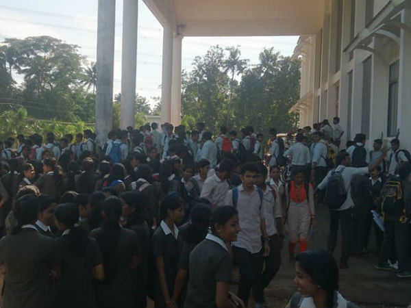 Ktu Btech Students Strike Against Year Out