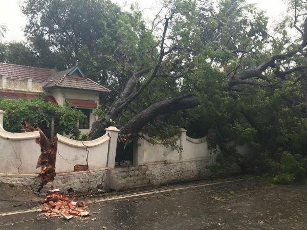 Heavyr Rain In Trivandrum And In South Kerala