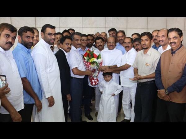 Jiddha Kunjalikutty Received Warm Welcome Umra