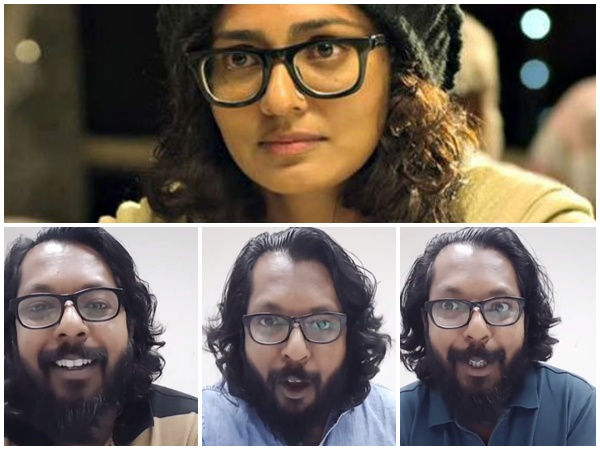A Viral Facebook Video Criticising Parvathy On Kasaba Mammootty Controversy