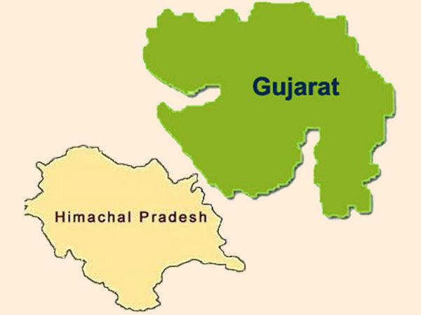 Gujarat Himachal Assemly Election Result Live Update