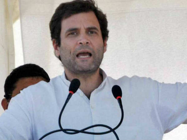 Pm Has Stopped Using The Word Corruption Says Rahul Gandh