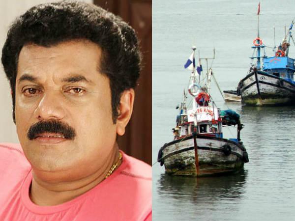 Fishermen Teaches Mukesh A Lesson Kollam Okhi Disaster