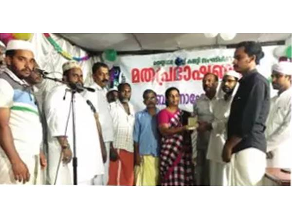 Samastha Supports Bhajanamadam S Food Distributiuon