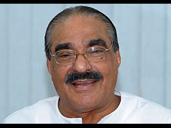 Km Mani Wrote Against Congress Upa
