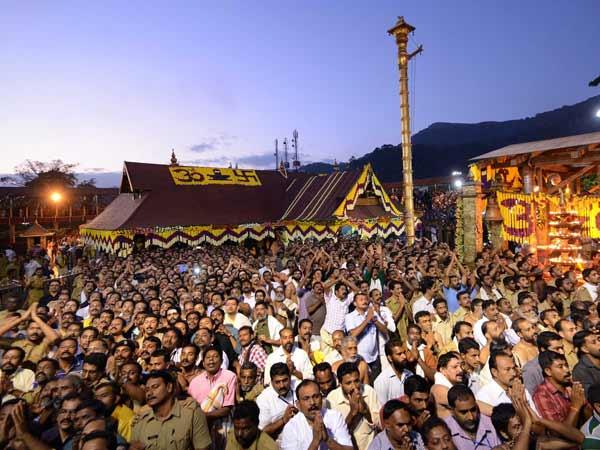 Makaravilaku 2018 Many Pilgrims Witnessed The Makarajyothi