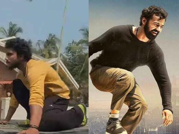 Short Film Young Man Imitates Pranav