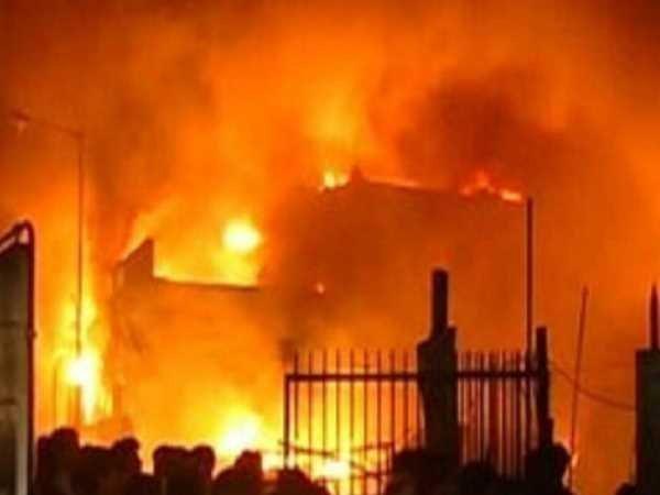 Fire Breaks At Plastic Godown Delhi Many Dead