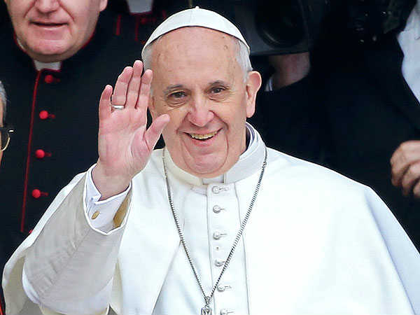 Pope Francis Marries Couple On Papal Plane