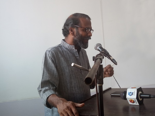 Speech Sunil P Idayilam At Art Cave Book Shop Inauguration Ceremony