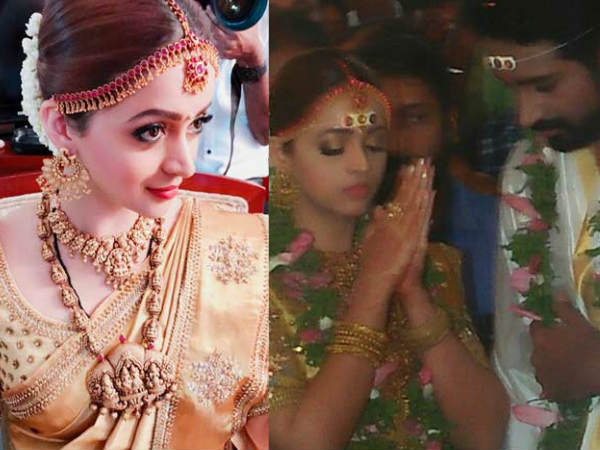 Actress Bhavana Married Naveen