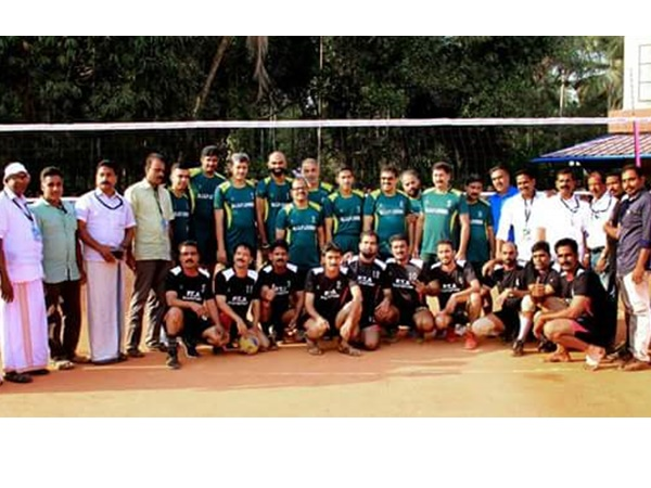 Celebrities In Jersey Kuttyadi Volleyball