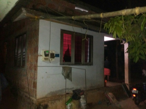 Bjp Activist S House Was Attacked