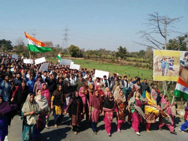 Hindu Ekta Manch Bjp Protest Support Man Arrested Rape