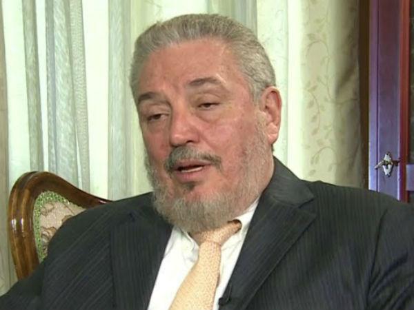Fidel Castros Eldest Son Fidel Castro Diaz Balart Commits Suicide