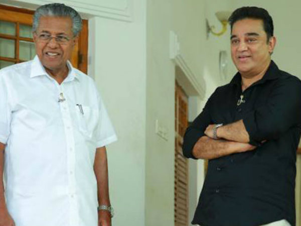 No Left Or Right Says Kamal Hasan