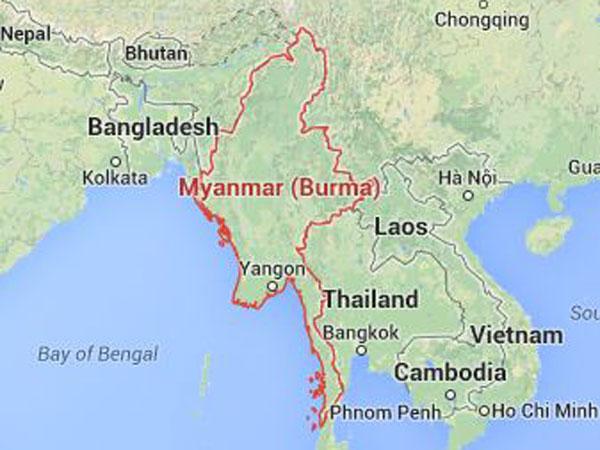 Myanmar Bulldozing Rohingya Villages
