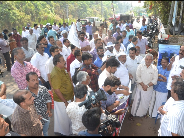 Businessmen Conducted March To Corporation Office