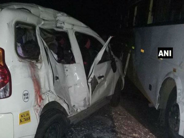 Kasargod Natives Killed Accident Chittur Andhra Pradesh