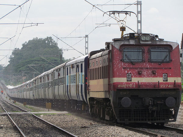 Train Service Delayed To Shoranur Side