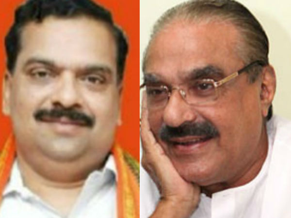 Bjp Leaders Meets Kerala Congress Chairman Km Mani Palai