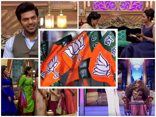 Its Outrage Week Bjp Supporters Tn Two Tv Shows Causing Offence