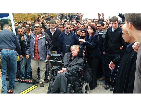 Hawking Supported Palestine Cause