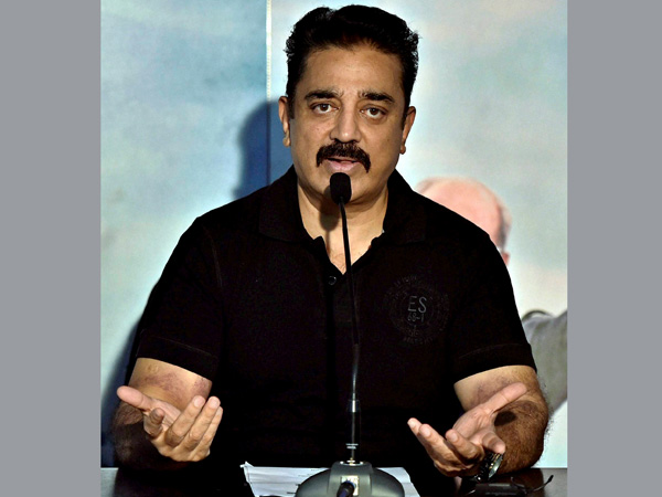 Kamal Hassan Criticises Rajanikanth Political Ground